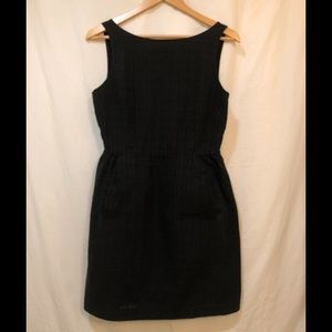 Michael Kors Retro Style Little Black Dress